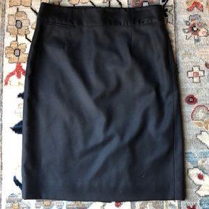 J. Crew Super 120's Fine Wool Pencil Skirt